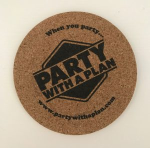 Party With A Plan® Coaster